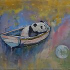 Panda Moon by Michael Creese