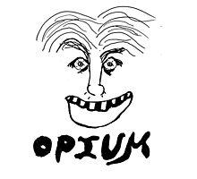 Opium happy smile Photographic Print
