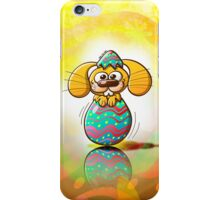 The Birth of an Easter Bunny iPhone Case/Skin