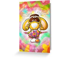 Desperate Easter Bunny Greeting Card