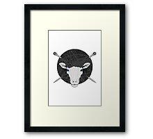 Woolly Head Framed Print