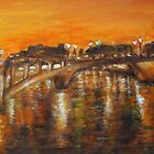 Nightfall over Paris by olivia-art