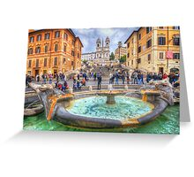 Piazza di Spagna  Greeting Card