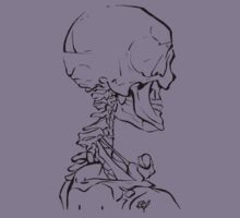 Skeleton Study by Will Wood