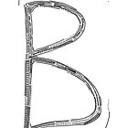 The letter B by handandi
