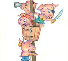 Pirate Pigs by Sanne Thijs
