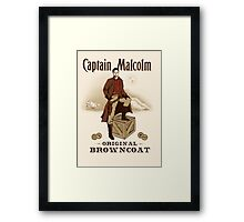 Captain Malcolm  Framed Print