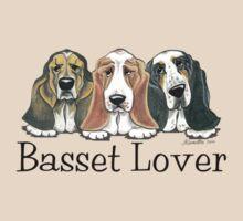 Basset Lover by offleashart