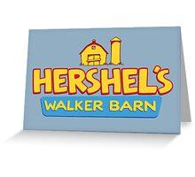 Hershel's Walker Barn Greeting Card