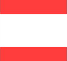 Austria Flag Iphone Case by Detnecs2013