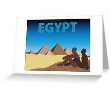 Visit Gay Egypt Greeting Card