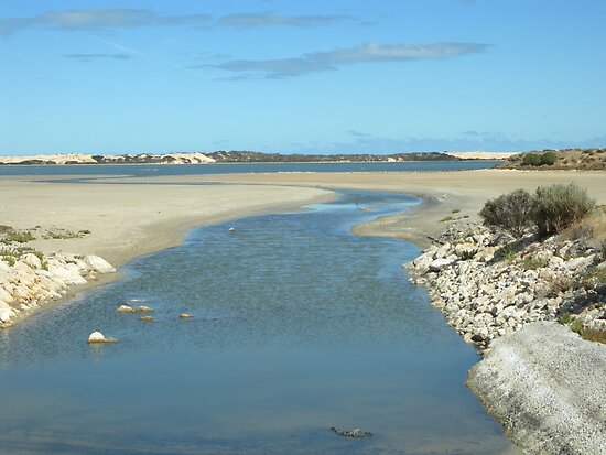 Coorong National Park-  South Australia by Kay Cunningham