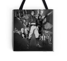 Serenity: The Alliance Strikes Back (black and white version) Tote Bag