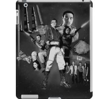Serenity: The Alliance Strikes Back (black and white version) iPad Case/Skin