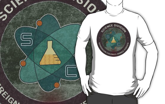 Science Division T-Shirt - Inspired by Dead Space 3 by gamespired