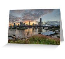 Story Bridge • Brisbane Greeting Card