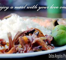 Enjoy a meal by Louis Delos Angeles