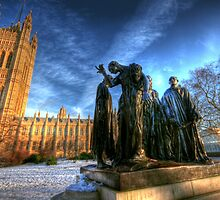 The Burghers of Calais by Rodin by CharlotteMorse