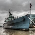 HMS Belfast by Peter Ellison