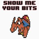 Show me Your Bits (Charizard) by eamon short
