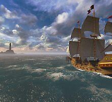 Return. 3D Version by Marsea