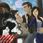 Bioshock Infinite by Adam Leonhardt
