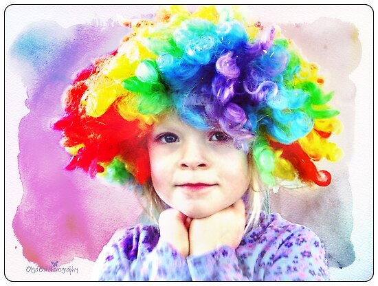 Colors of childhood by Olga