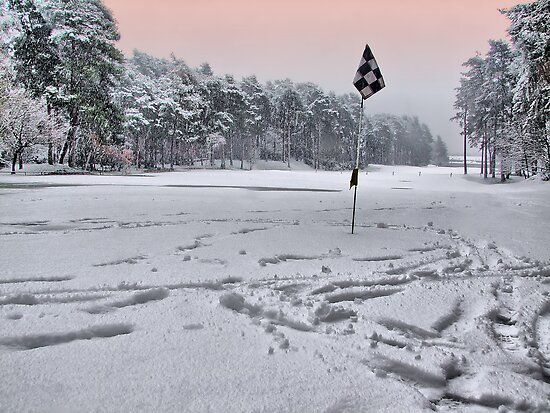 Noo Golf Today !!! - HDR by Colin J Williams Photography