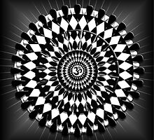Aum Mandala Balance by shoffman