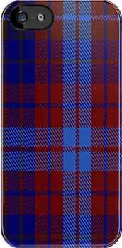 01120 Vincent Fashion Tartan Fabric Print Iphone Case by Detnecs2013