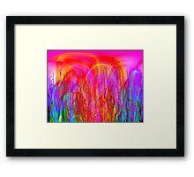 Psychedelic Jungle Framed Print