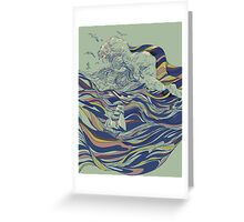 Ocean and Love Greeting Card