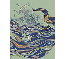 Ocean and Love Photographic Print
