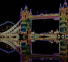 Tower Bridge London by Ian Jeffrey