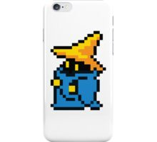 pixel black mage iPhone Case/Skin
