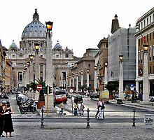 Basilika St. Peter / Rome by Ingrid Stiehler