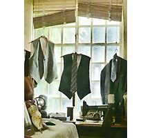 The Tailor Shop Photographic Print