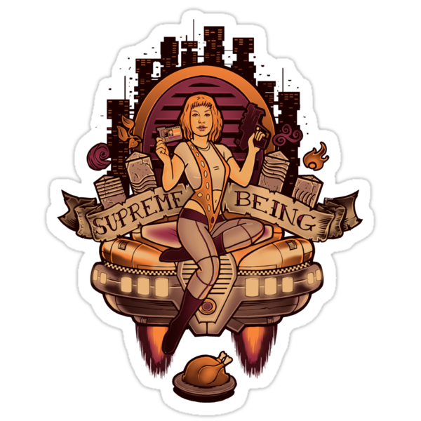 Supreme Being - STICKER by MeganLara