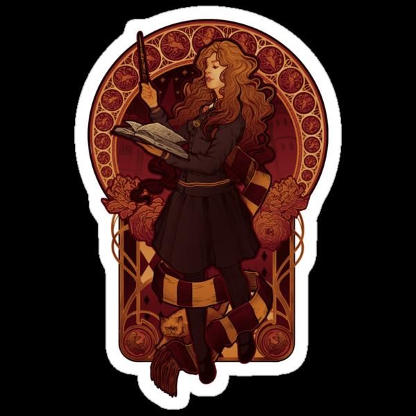 The Brightest Witch of Her Age - STICKER by MeganLara