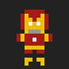 Pixel Art Iron Hero by jaredfin