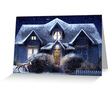 Quiet Winter Night Greeting Card