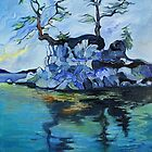 Little Blue Island (Sidney, B.C.) by Cassandra Dolen