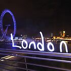 Lightpaint London by myebra