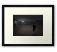 No Tears Framed Print