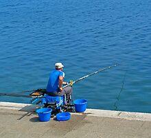 Fisherman by snotbubble