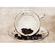 Coffee Break Photographic Print
