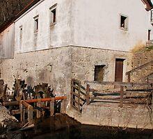 Mill in Postojna by jojobob