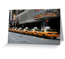 New York Fare  Greeting Card