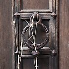 Silly String on Door Knocker by jojobob