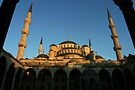 Sultanahmet Mosque in Istanbul by Jens Helmstedt